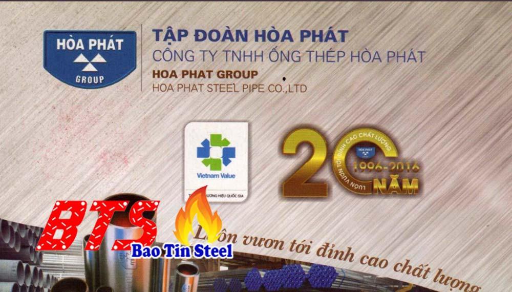 Catalogue ống thép Hòa Phát