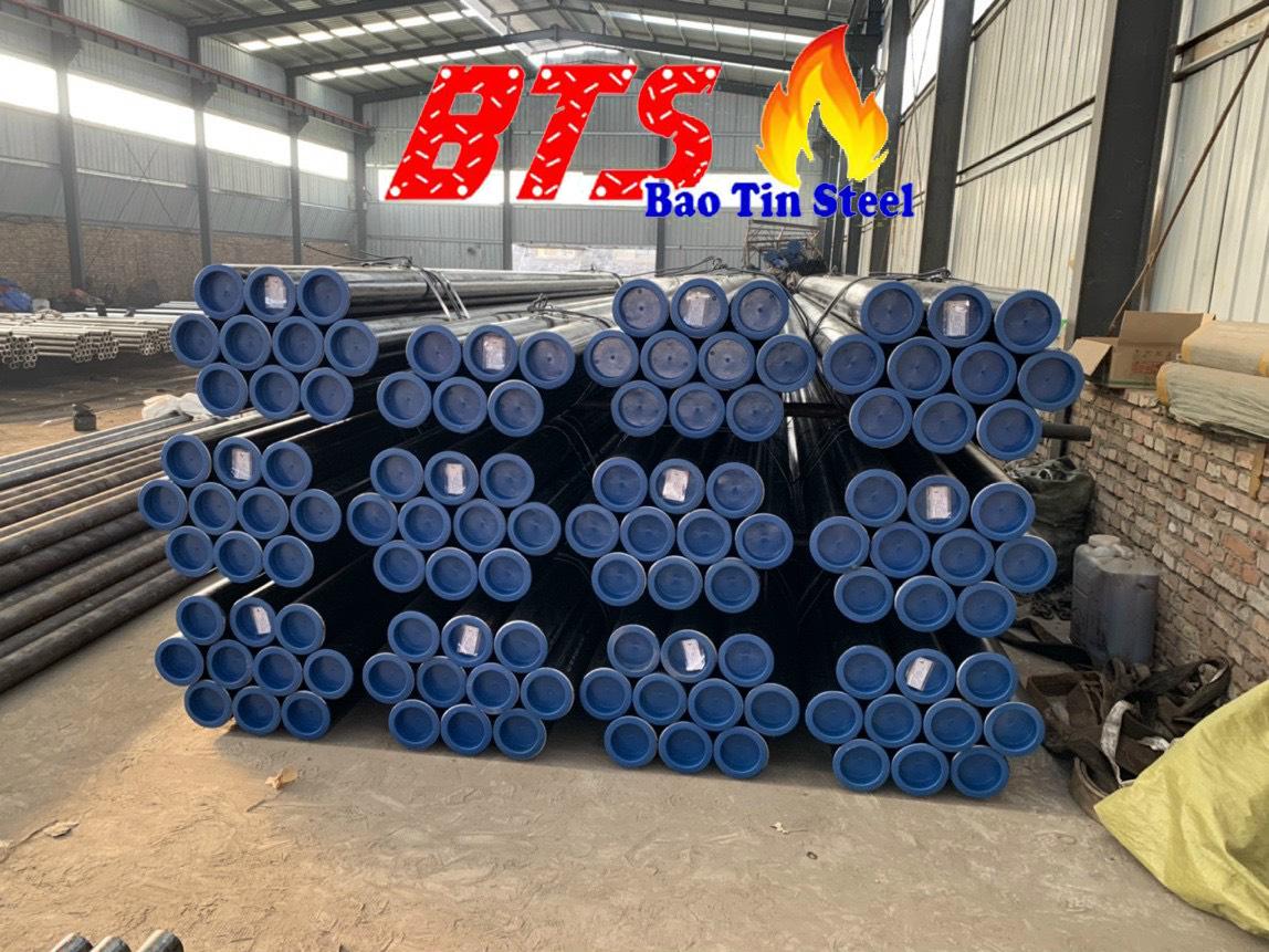 ống thép đúc mạ kẽm DN125 SCH40