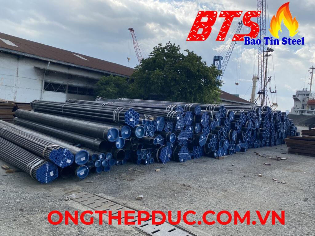 ống thép đúc mạ kẽm DN400 SCH40