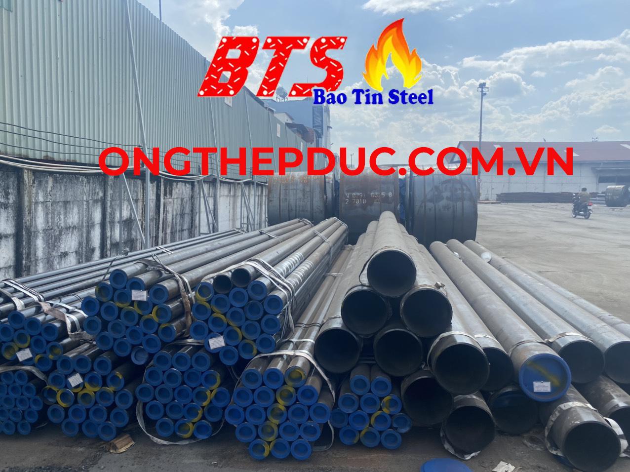 ống thép đúc mạ kẽm DN550 SCH40